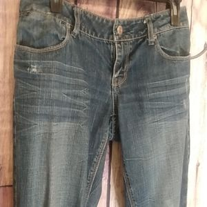 American Eagle Outfitters Destressed Jeans